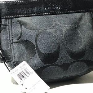 Rare Authentic Zoe Top Handle Leather Coach